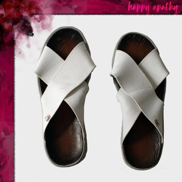 2cfc63068a9 BZees Shoes - BZees Desire Wedge Sandal - White